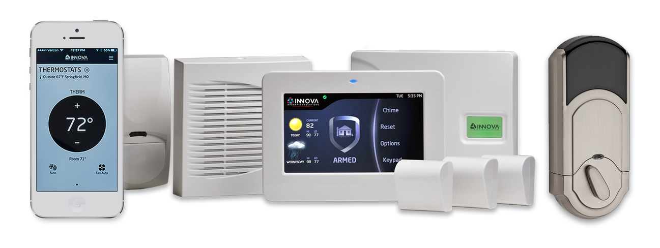 Innova Home Security System Plans Start At Less Than 2 A Day
